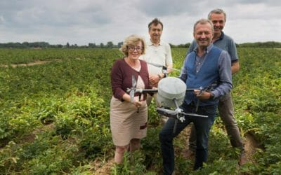 Sint-Truiden uses drones to register damage in agriculture