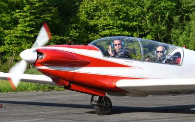 René Fournier aircraft gather at DronePort
