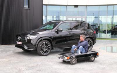 Wanneer Mercedes een event organiseert in DronePort …