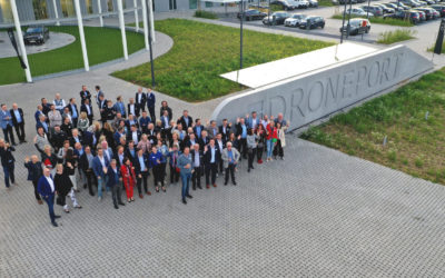 Vastgoednetwerk van VOKA Limburg bezoekt DronePort