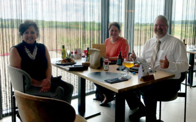 American version of DronePort visits Sint-Truiden