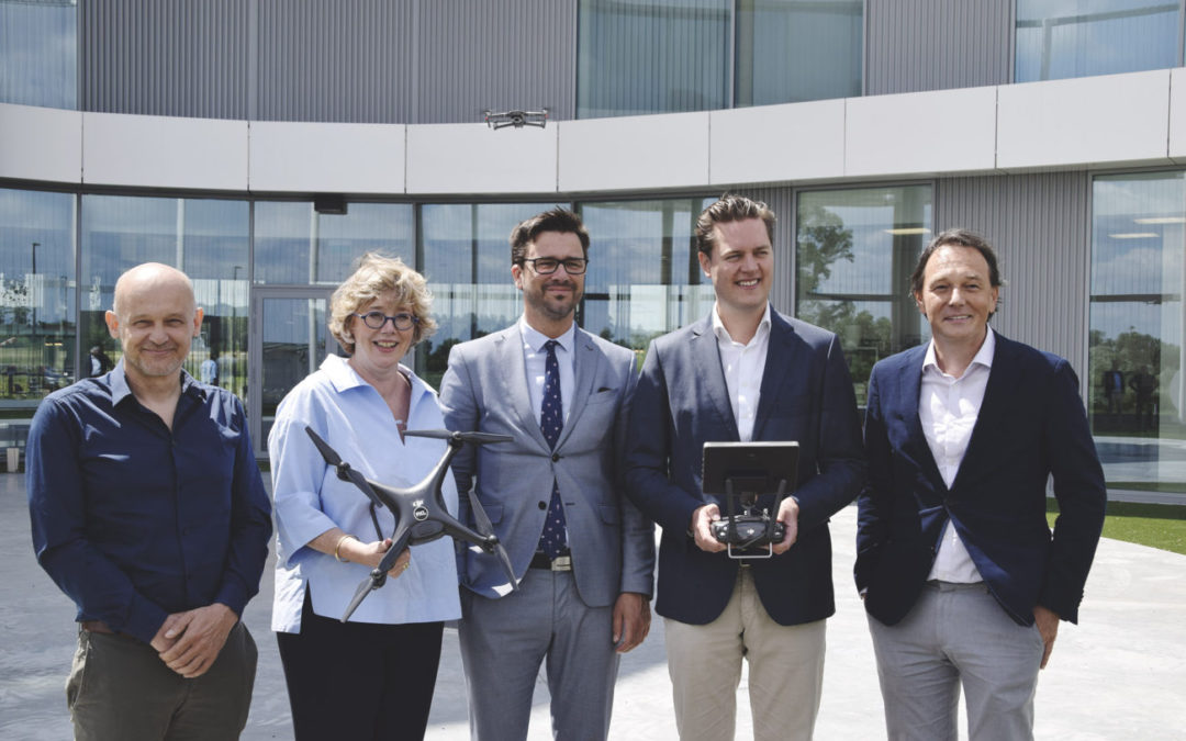 PXL, DronePort en Provinciebestuur lanceren opleiding Drones Business Architect