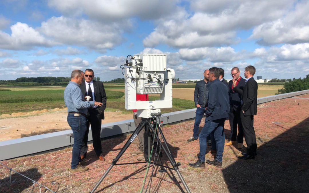 BATS demonstreert live 3D radarsysteem voor drone-detectie