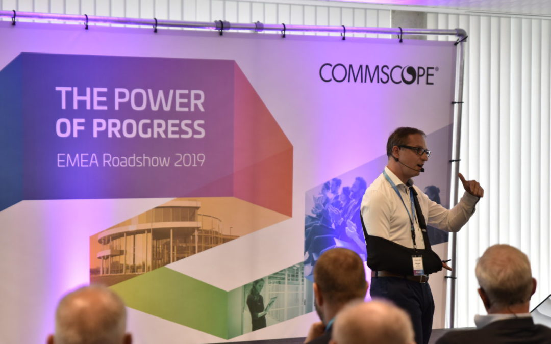 Amerikaanse multinational CommScope host EMEA roadshow in DronePort