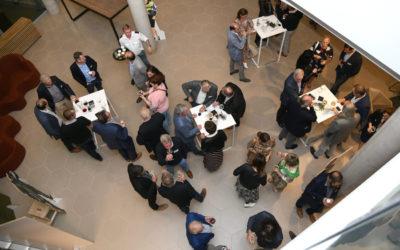 De ondernemersclub @hoc opende haar nieuwe werkjaar in Droneport