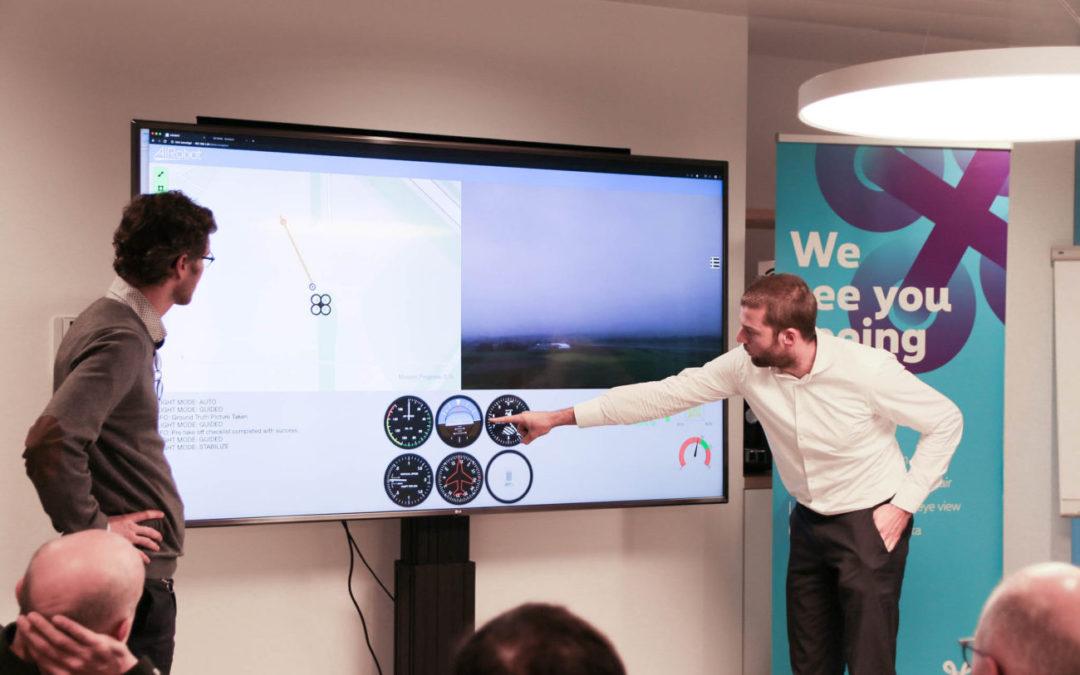 Proximus en AIRobot doen testen met dedicated 4G-drone-netwerk voor BVLOS dronevluchten