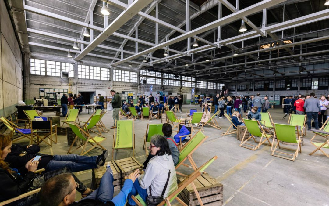 Hundreds of young people visit DronePort during JCI's national congress