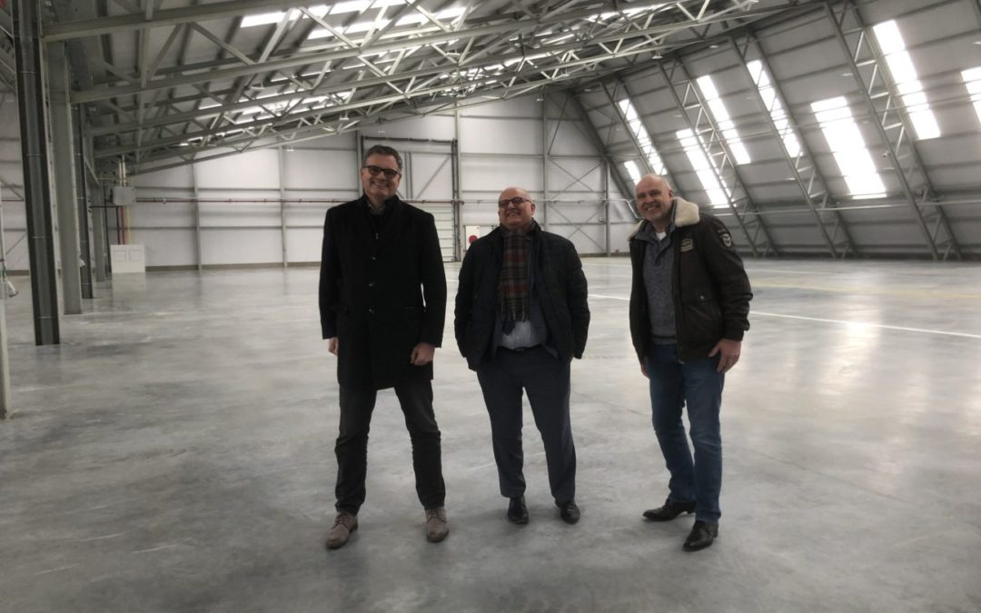 Dutch Drone Centre en DARPAS op bezoek in DronePort